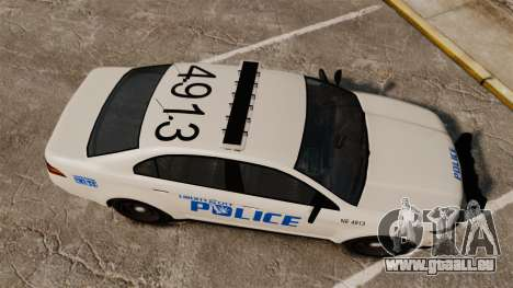 GTA V Vapid Police Interceptor LCPD [ELS] für GTA 4 rechte Ansicht