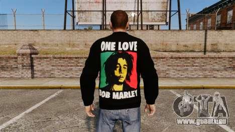 Pull-Bob Marley- pour GTA 4 secondes d'écran