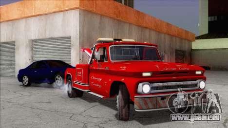Chevrolet C20 Towtruck 1966 1.01 pour GTA San Andreas