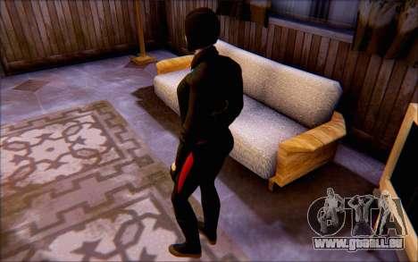 Lady Shiva dans le jeu Batman Arkham origines pour GTA San Andreas troisième écran