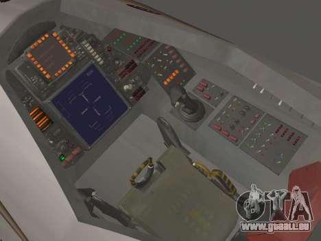 FARSCAPE modul pour GTA San Andreas vue de côté