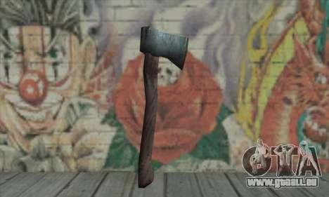 Axe pour GTA San Andreas deuxième écran