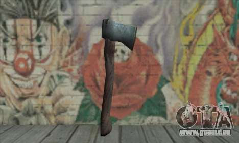 Axe für GTA San Andreas zweiten Screenshot