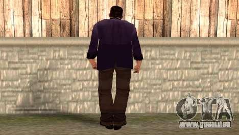 Toni Cipriani pour GTA San Andreas deuxième écran