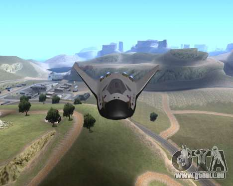 FARSCAPE modul für GTA San Andreas Rückansicht