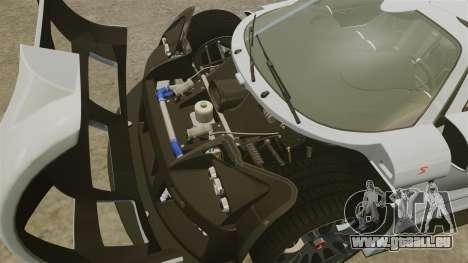 Gumpert Apollo S 2011 für GTA 4 Innenansicht