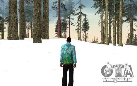 Sotschi 2014-Jacke für GTA San Andreas dritten Screenshot
