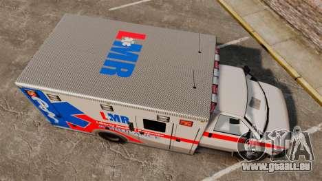 Brute Liberty Ambulance [ELS] pour GTA 4 est un droit