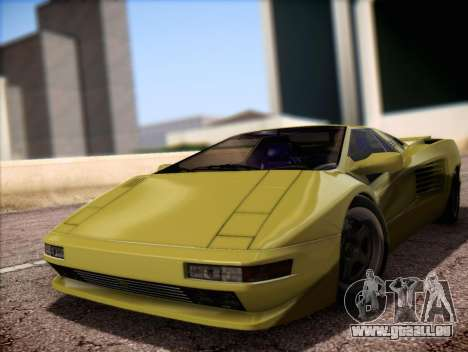 Cizeta Moroder V16T 1988 pour GTA San Andreas