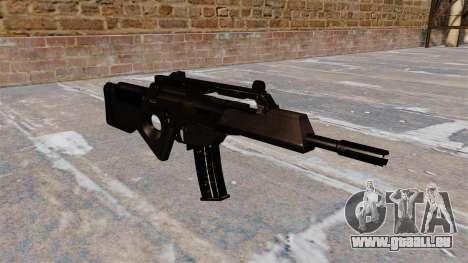 Carabine HK SL8 de Bullpup pour GTA 4