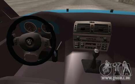 BMW 325Ci 2003 pour GTA San Andreas vue de droite