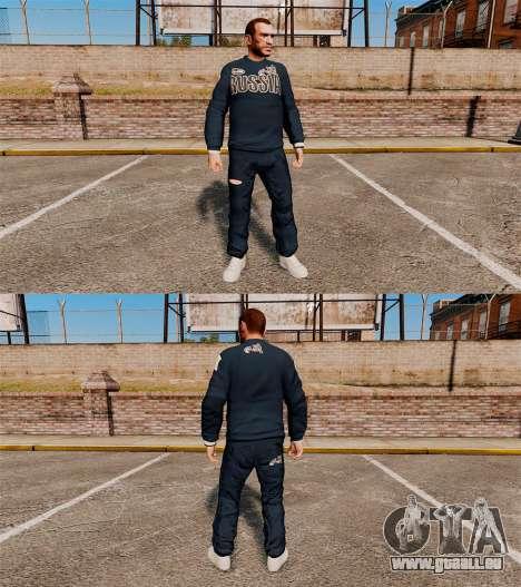 Vêtements-Bosco Sport- pour GTA 4 secondes d'écran