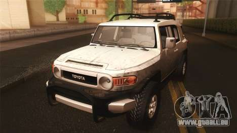 Toyota FJ Cruiser 2012 für GTA San Andreas Innenansicht