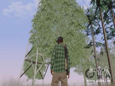 Der Grove Street-Gangmitglied von GTA 5 für GTA San Andreas sechsten Screenshot