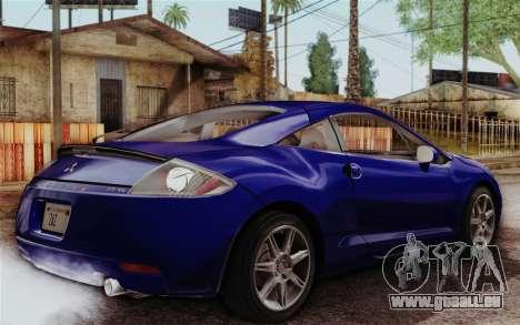 Mitsubishi Eclipse GT v2 für GTA San Andreas linke Ansicht