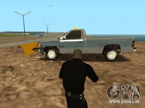 Dodge Ram für GTA San Andreas linke Ansicht