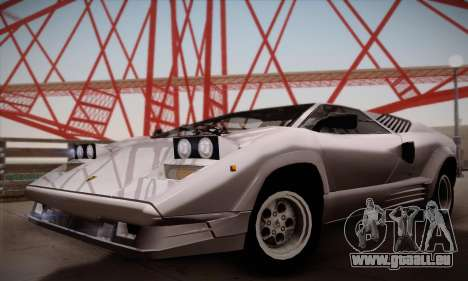 Lamborghini Countach 25th Anniversary für GTA San Andreas