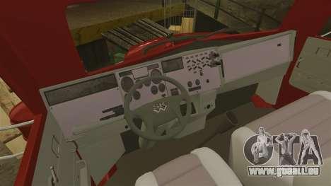 Mini camion pour GTA 4 Vue arrière