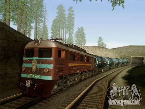 VL23-419 pour GTA San Andreas vue intérieure