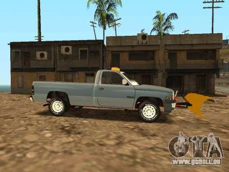 Dodge Ram pour GTA San Andreas vue arrière