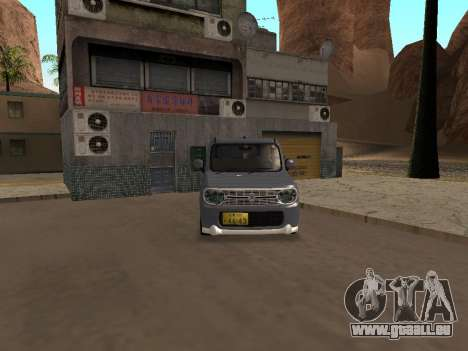 Suzuki Alto Lapin pour GTA San Andreas sur la vue arrière gauche