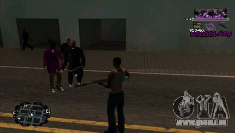Ballas C-HUD für GTA San Andreas