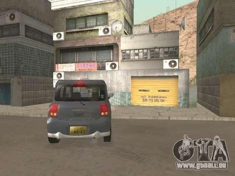 Suzuki Alto Lapin für GTA San Andreas Seitenansicht