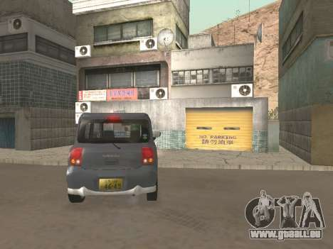 Suzuki Alto Lapin pour GTA San Andreas vue de côté