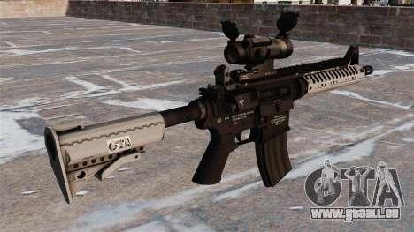 Automatique carabine M4 VLTOR pour GTA 4 secondes d'écran
