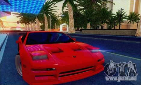 Acura NSX Drift pour GTA San Andreas vue intérieure