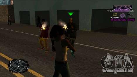 Ballas C-HUD für GTA San Andreas zweiten Screenshot