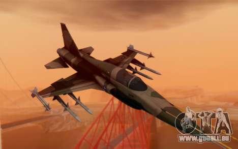 F-5 Tiger II für GTA San Andreas