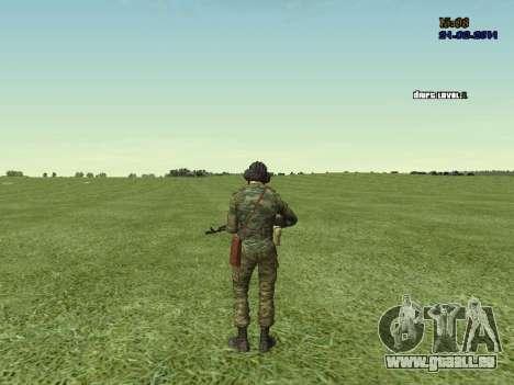Panzerschütze für GTA San Andreas siebten Screenshot