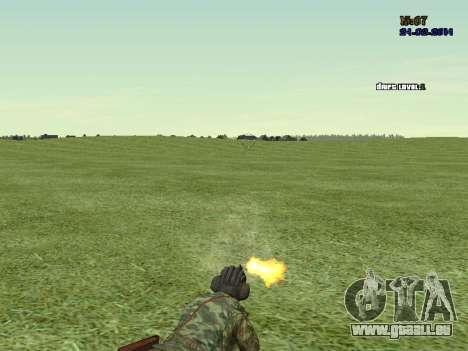 Panzerschütze für GTA San Andreas fünften Screenshot