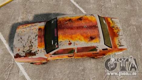 Renault 12 Toros v2.0 Rusty für GTA 4 rechte Ansicht