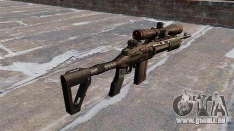 Fusil automatique Mk 14 EBR pour GTA 4 secondes d'écran