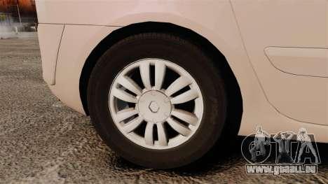 Renault Espace IV Initiale v1.1 pour GTA 4 Vue arrière