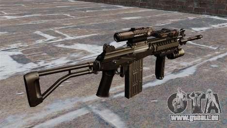 Selbstladegewehr Galil taktische für GTA 4 Sekunden Bildschirm