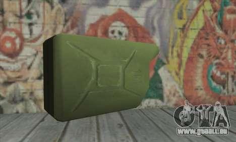 Boîte métallique pour GTA San Andreas