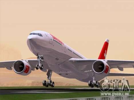 Airbus A330-223 Swiss International Airlines für GTA San Andreas Seitenansicht