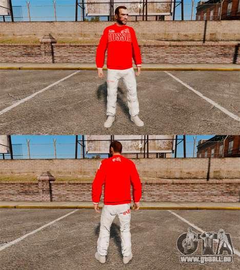 Vêtements-Bosco Sport- pour GTA 4 troisième écran