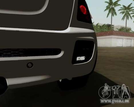 MINI Cooper S 2012 pour GTA San Andreas vue arrière