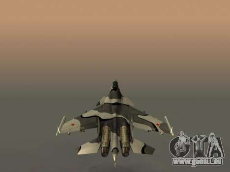 Su-33 für GTA San Andreas Räder