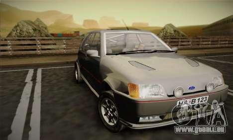 Ford Fiesta Mk3 XR2i für GTA San Andreas linke Ansicht