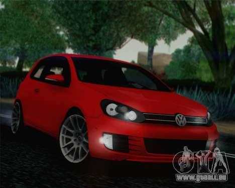 Volkswagen Golf Mk6 pour GTA San Andreas