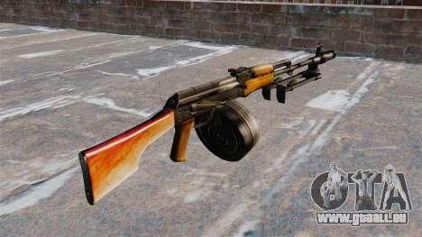 La mitrailleuse RPK-74 pour GTA 4 secondes d'écran
