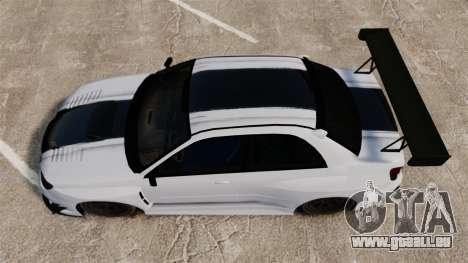 Subaru Impreza v2.0 pour GTA 4 est un droit