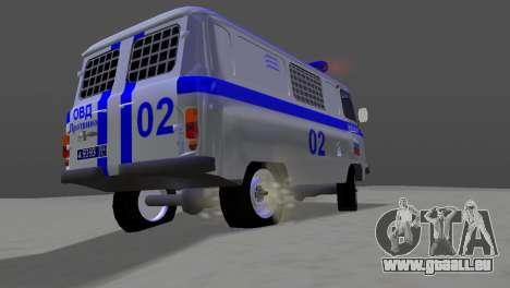 UAZ-3741 AUMONT pour une vue GTA Vice City de la droite