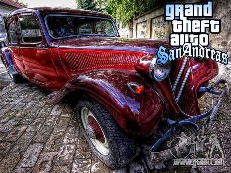 New loadscreen Old Cars für GTA San Andreas siebten Screenshot