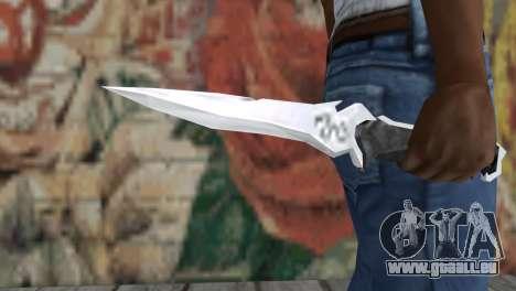 Couteau Krauzera pour GTA San Andreas troisième écran